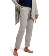 hue women's solid pajama jogger
