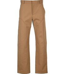 burberry london twill tailored trousers