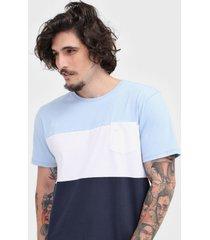 camiseta colombo bolso azul