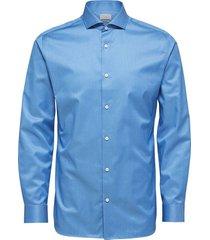 overhemd honeselpelle blauw