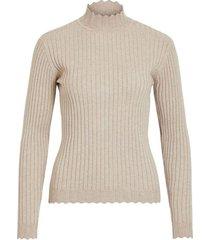 violivi knit funnel neck top