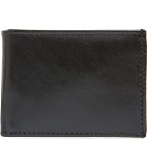 men's johnston & murphy leather super slim wallet -