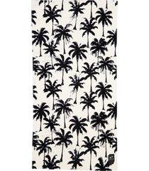 slowtide luca beach towel, size one size - white