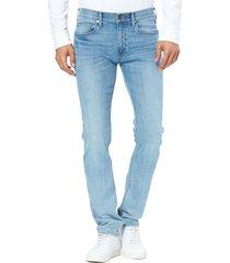 men's paige lennox slim fit jeans, size 28 - blue