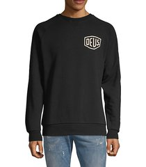 raglan-sleeve stretch sweatshirt