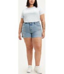 levi's plus size 501 original shorts