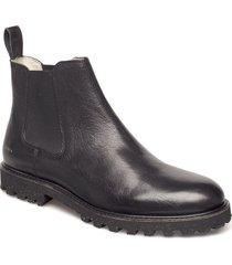 district boot shoes chelsea boots svart makia