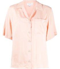 equipment short-sleeve shift blouse - pink