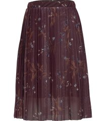 rihanna mesh skirt knälång kjol röd the new