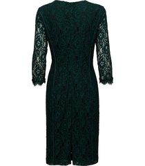 polly dress lw jurk knielengte groen inwear