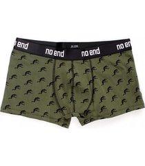 boxer verde no end logos