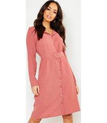 blouse jurk met ceintuur, sand