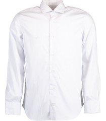 micro check button down shirt
