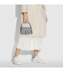 coach women's pillow tabby shoulder bag 18 - granite