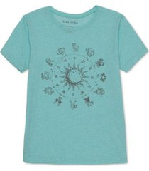 love tribe juniors' zodiac graphic t-shirt