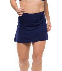 shorts-saia sandy fitness energize azul marinho - azul/azul marinho - feminino - poliamida - dafiti