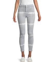j brand women's alana high rise skinny ankle jeans - sol - size 28 (4-6)
