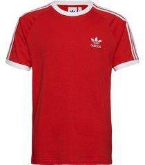 3-stripes tee t-shirts short-sleeved röd adidas originals