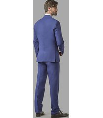 traje graduacion azul trial