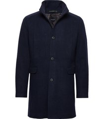 slhmosto wool coat b noos wollen jas lange jas blauw selected homme