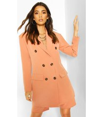 oversized dad blazer, coral