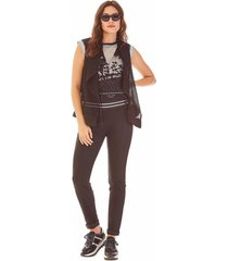 calca zinco jegging cos elastico black jeans