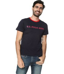 camiseta azul-rojo us polo assn