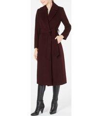 forecaster belted maxi walker coat