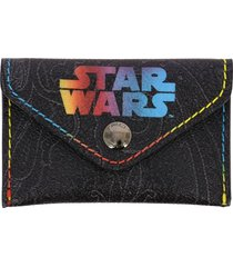 etro wallet etro x star wars credit card holder with paisley print