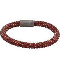 brown twister band bracelet