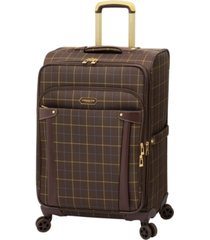 """london fog brentwood 25"""" softside expandable check-in luggage, created for macy's"""