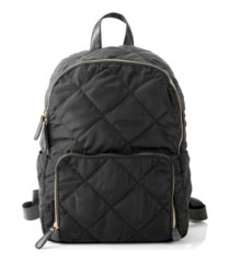 cathy's concepts quilted nylon backpack