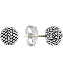 lagos 'columbus circle' ball stud earrings in sterling silver at nordstrom