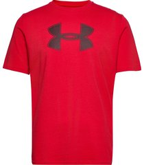 ua big logo ss t-shirts short-sleeved röd under armour