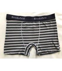 boxer gris brooksfield rayado