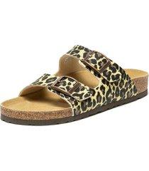 sandalia corcho burano leopardo coquett