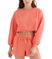 lucky brand cool for summer cropped top