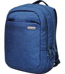 mochila porta laptop pronet m azul piedra head