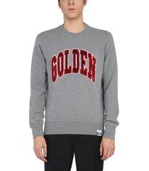 golden goose archibald sweatshirt with sequins