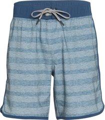 "prana men's ground speed 7.5"" inseam yoga shorts - storm cloud rower xx-large cotton"