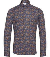 8687 - jake sc skjorta casual blå xo shirtmaker by sand copenhagen