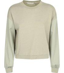 alice + olivia cropped sweatshirt