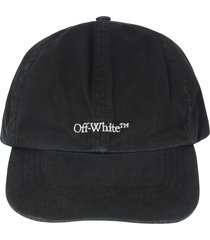 off-white bookish ow baseball cap
