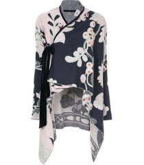 onefifteen floral pattern loose jacket - pink