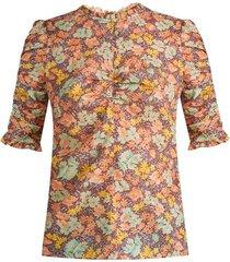 natuka floral blouse