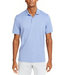 club room men's soft cotton interlock polo, created for macy's