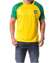 camiseta braziline manga curta brasil tapajós ragl