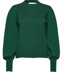 sammyiw pullover gebreide trui groen inwear