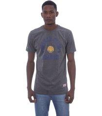 camiseta mitchell & ness down to golden state warriors cinza - cinza - masculino - dafiti