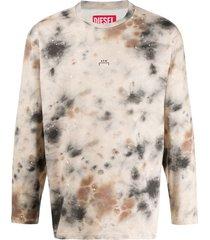 a-cold-wall* x a-cold-wall* tie-dye sweatshirt - neutrals